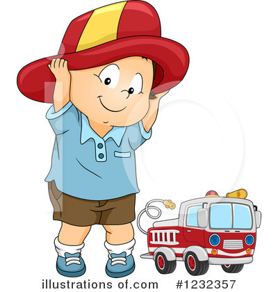 Firefighter Clipart #1232357 by BNP Design Studio