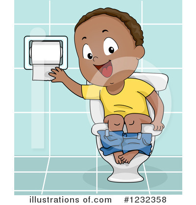Potty Training Clipart #1232358 by BNP Design Studio