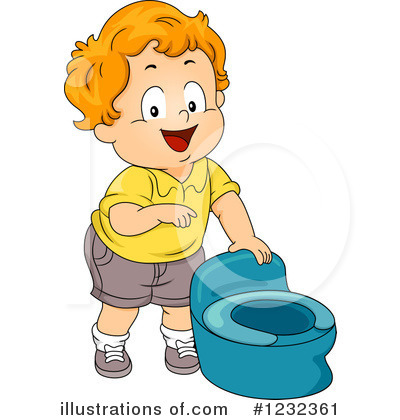 Potty Training Clipart #1232361 by BNP Design Studio