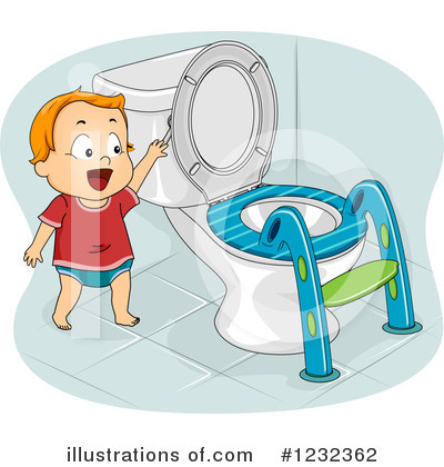 Potty Training Clipart #1232362 by BNP Design Studio