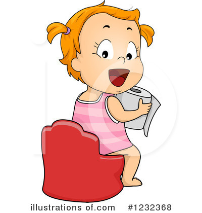 Potty Training Clipart #1232368 by BNP Design Studio