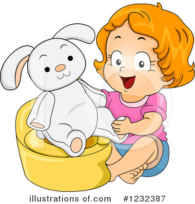Potty Training Clipart #1232387 by BNP Design Studio
