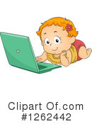Royalty-Free (RF) Toddler Clipart Illustration #1262442