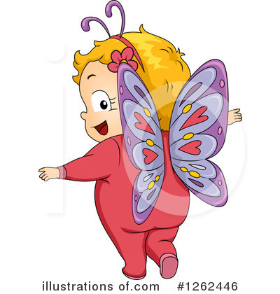 Butterfly Clipart #1262446 by BNP Design Studio