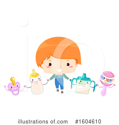 Toddler Clipart #1604610 by BNP Design Studio