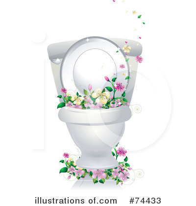 74433 Royalty Free Toilet Clipart Illustration on 2015 bathroom designs