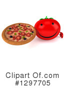 Tomato Character Clipart #1297705