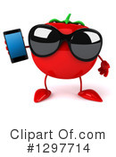 Tomato Character Clipart #1297714 by Julos