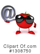 Tomato Character Clipart #1308750 by Julos