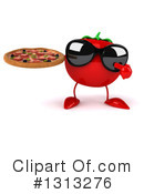 Tomato Character Clipart #1313276 by Julos