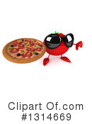Tomato Character Clipart #1314669 by Julos