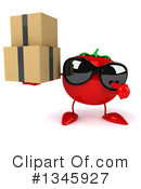 Tomato Character Clipart #1345927 by Julos