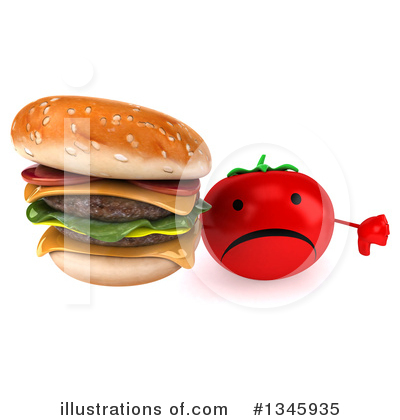 Tomato Character Clipart #1345935 by Julos