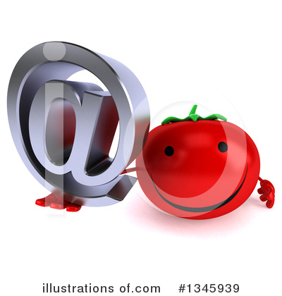 Tomato Character Clipart #1345939 by Julos