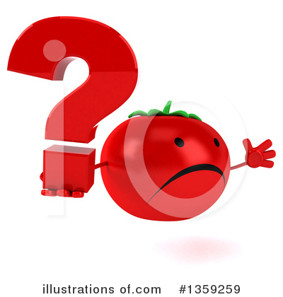 Tomato Character Clipart #1359259 by Julos
