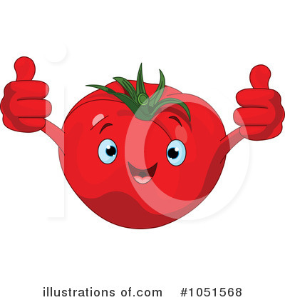 Tomato Clipart #1051568 by Pushkin