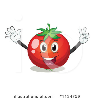 Tomato Clipart #1134759 by Graphics RF