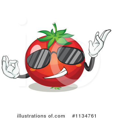 Tomato Clipart #1134761 by Graphics RF