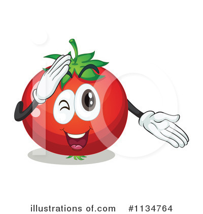 Tomato Clipart #1134764 by Graphics RF