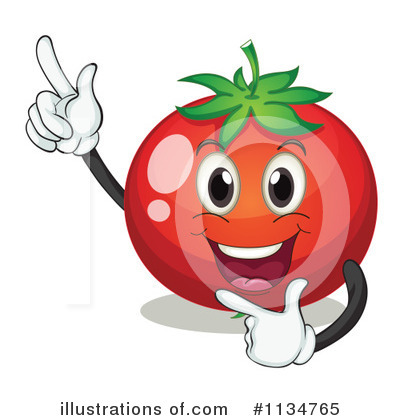 Tomato Clipart #1134765 by Graphics RF