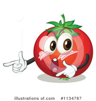 Tomato Clipart #1134767 by Graphics RF