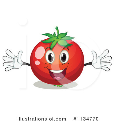 Tomato Clipart #1134770 by Graphics RF