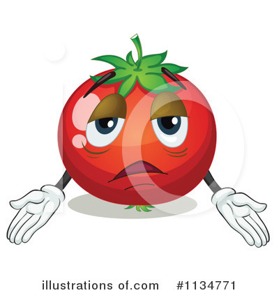 Tomato Clipart #1134771 by Graphics RF