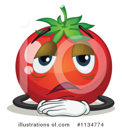 Tomato Clipart #1134774 by Graphics RF