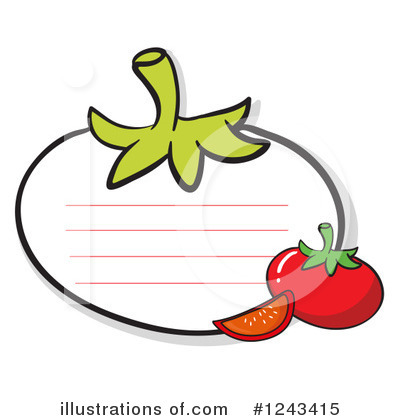 Tomato Clipart #1243415 by Graphics RF