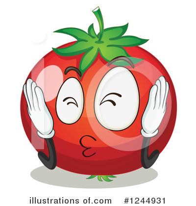 Tomato Clipart #1244931 by Graphics RF