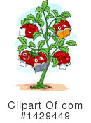 Tomato Clipart #1429449 by BNP Design Studio