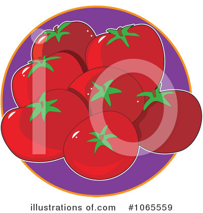 Vegetable Clipart #1065559 by Maria Bell