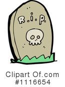 Royalty-Free (RF) Tombstone Clipart Illustration #1116654