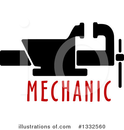 Mechanic Clipart #1332560 by Vector Tradition SM