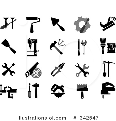 Royalty-Free (RF) Tool Clipart Illustration by Vector Tradition SM - Stock Sample #1342547