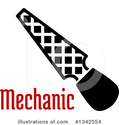 Mechanic Clipart #1342554 by Vector Tradition SM
