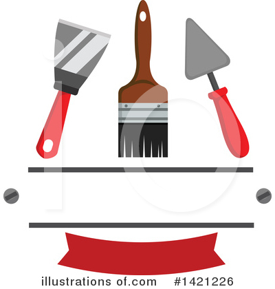 Painting Clipart #1421226 by Vector Tradition SM
