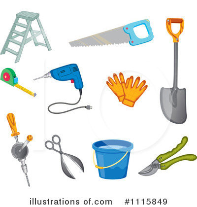 Ladder Clipart #1115849 by Graphics RF