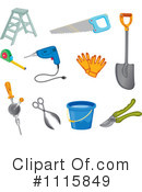 Tools Clipart #1115849 by Graphics RF