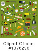 Tools Clipart #1376298 by Vector Tradition SM