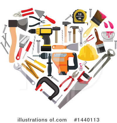 Tool Clipart #1440113 by Vector Tradition SM