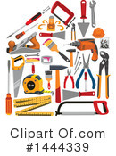 Royalty-Free (RF) Tools Clipart Illustration #1444339
