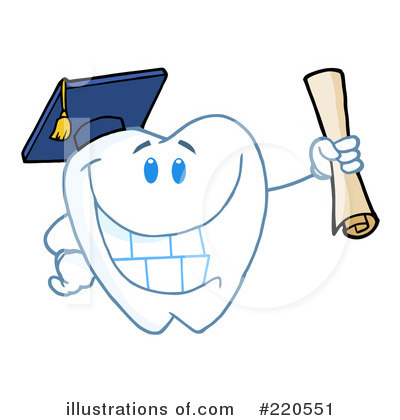 Tooth Character Clipart #220551 by Hit Toon
