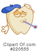 Tooth Character Clipart #220555 by Hit Toon