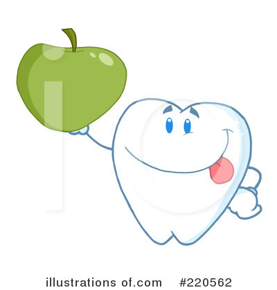 Tooth Character Clipart #220562 by Hit Toon