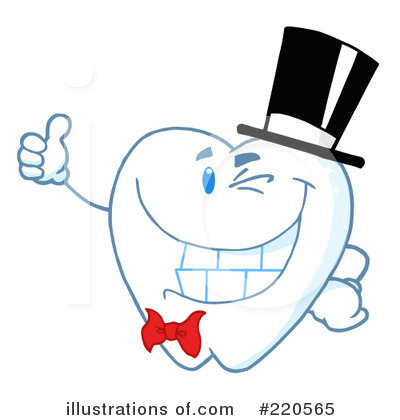Tooth Character Clipart #220565 by Hit Toon