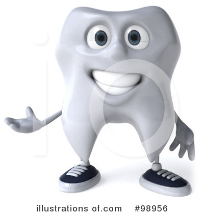 Tooth Clipart #98956 by Julos