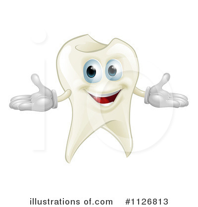 Royalty-Free (RF) Tooth Clipart Illustration by AtStockIllustration - Stock Sample #1126813