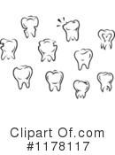 Tooth Clipart #1178117 by Vector Tradition SM