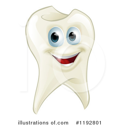 Tooth Clipart #1192801 by AtStockIllustration